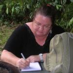 Judy working